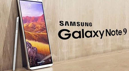 صورة سامسونج – هاتف جالكسي نوت 9 ببصمة مدمجة في الشاشة !