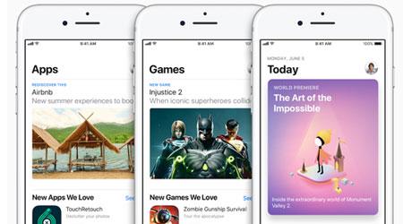شرح - كيف تجد التطبيقات التي قمت بتنزلها سابقا في iOS 11