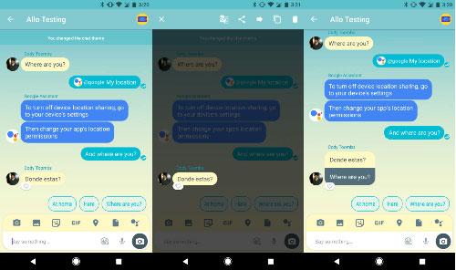 تطبيق Google Allo يحصل على ميزة الترجمة في التحديث الأخير