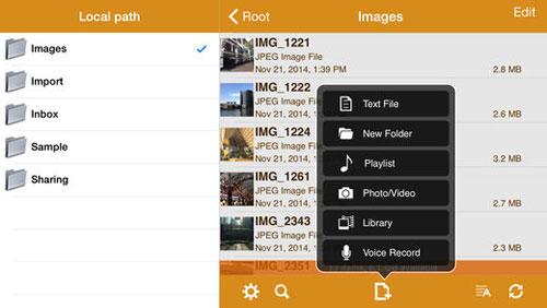 تطبيق AirDisk Pro لإدارة الملفات ونقلها بين الأجهزة