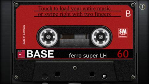 تطبيق Cassette Gold مشغل صوتيات كلاسيكي