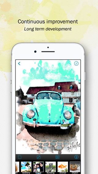 تطبيق Paintkeep Painting لتحويل صورك إلى تحف فنية