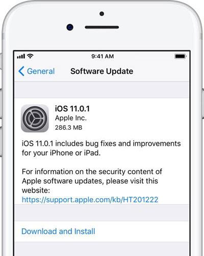 عاجل - آبل تطلق تحديث iOS 11.1 لحل العديد من المشاكل