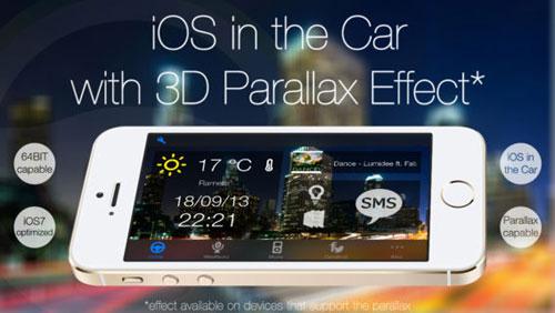 تطبيق iCarConnect لتحويل الأيفون لقاعدة للسيارة