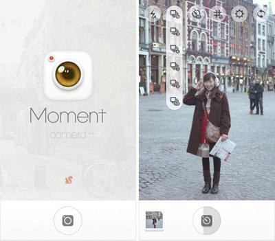 تطبيق Moment Camera لالتقاط صور مميزة