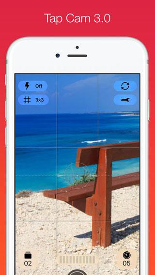 تطبيق Tap Cam لتصوير وتسجيل فيديو بمؤثرات مميزة