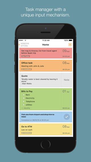 تطبيق Taskcode لإدارة برامجك اليومية