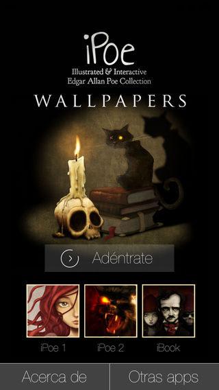 تطبيق Edgar Allan Poe خلفيات مميزة في انتظارك