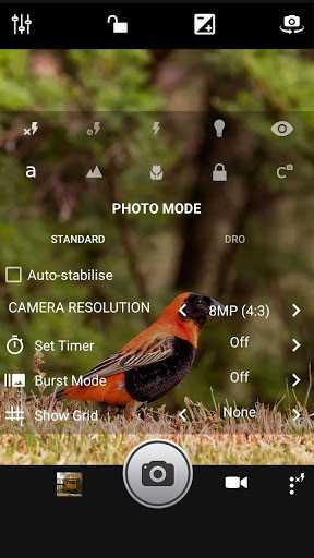 تطبيق Fast Camera لالتقاط صور احترافية مميزة