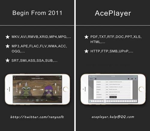 تطبيق AcePlayer Plus أفضل مشغل وسائط