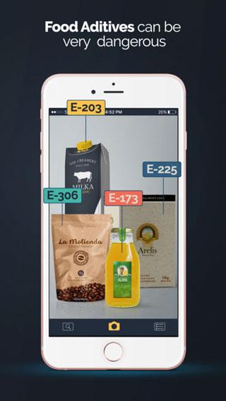 تطبيق E − Food Scanner - دليلك للحصول على الأغذية الصحية فقط