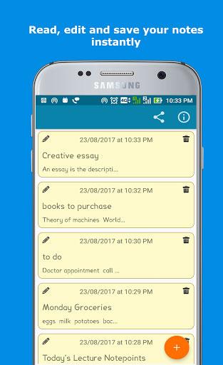 تطبيق Smartynote Pro الاحترافي لتسجيل الملاحظات