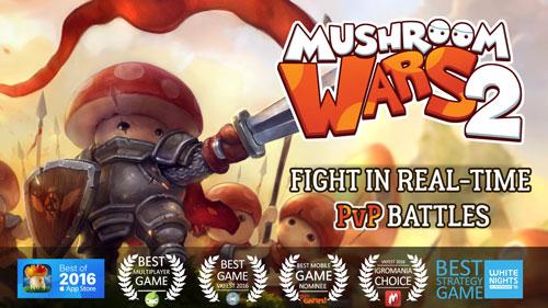 لعبة Mushroom Wars 2 حرب استراتيجية مسليةلعبة Mushroom Wars 2 حرب استراتيجية مسلية