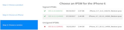 شرح الرجوع أو التحديث إلى الإصدار iOS 10.3.3 على الأيفون والأيباد