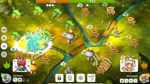 لعبة Mushroom Wars 2 لكل باحث عن ألعاب استراتيجية