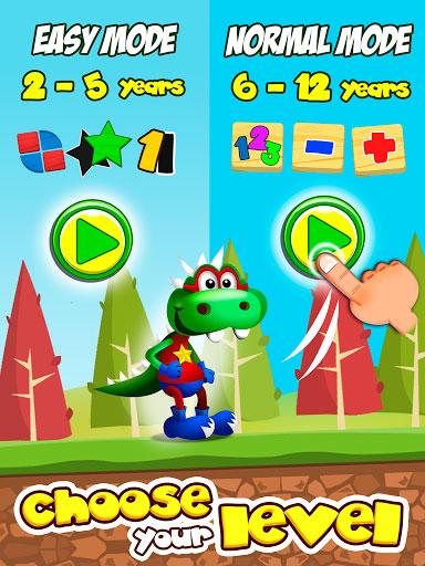 تطبيق Dino Tim لتعليم الأطفال الرياضيات بطريقة تفاعلية