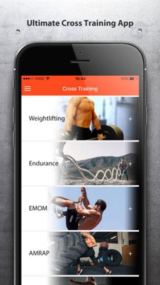 تطبيق Cross Training دليلك لبناء العضلات