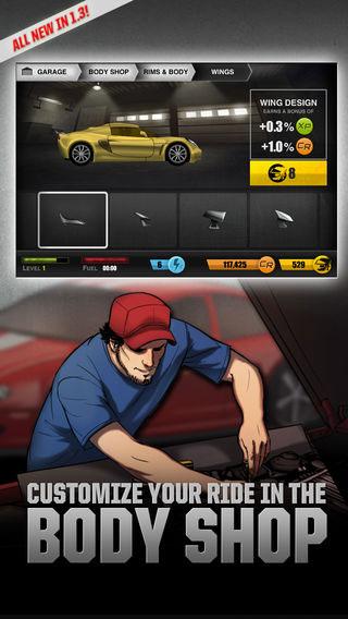 لعبة Drag Racer World لخوض تحديات السباق