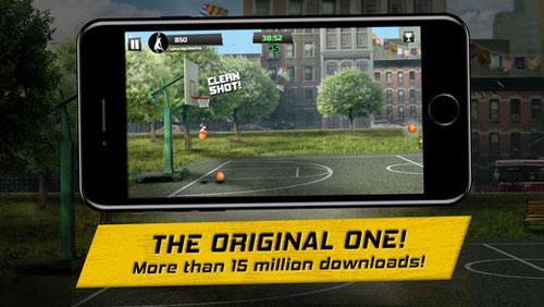 لعبة iBasket Pro لمحبي كرة السلة