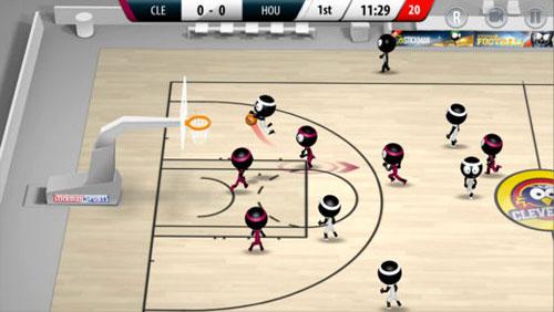 لعبة Stickman Basketball 2017 كرة سلة ممتعة