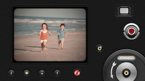 تطبيق 8mm Vintage Camera لتسجيل فيديو احترافي