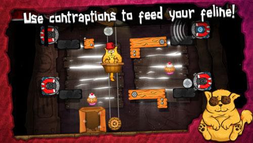 لعبة Cat on a Diet ساعد القط على الريجيم مع ألغاز