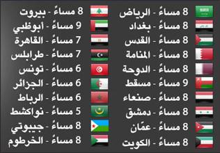 موعد المؤتمر بتوقيت الدول العربية