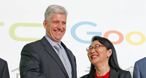 جوجل و HTC - صفقة المليار دولار !