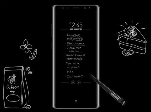 هاتف جالكسي نوت 8 : مزايا قلم S Pen !