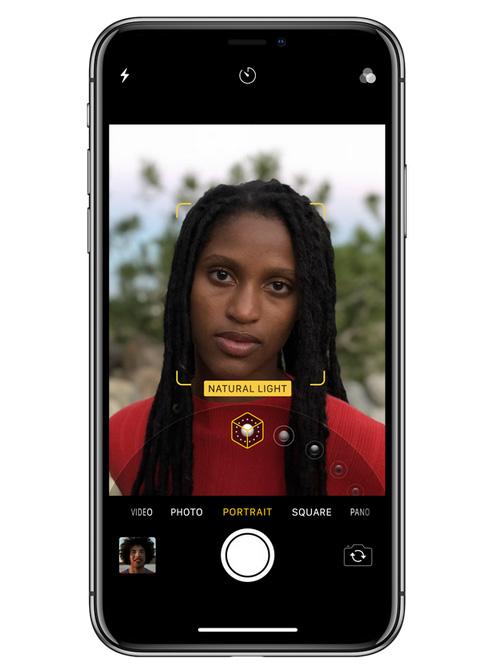 كاميرا آيفون X : ميزة Portrait Mode و Portrait Lightning