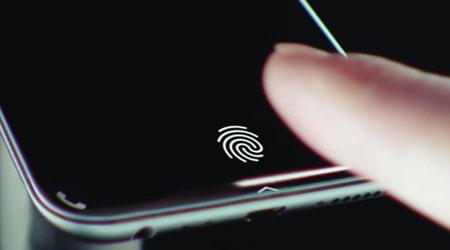 براءة اختراع - إستخدام البصمة تحت شاشة الأيفون!