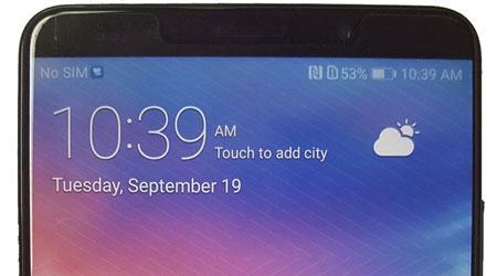 صورة حقيقية لهاتف Huawei Mate 10