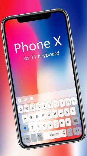 تطبيق Keyboard for Os11 لوحة مفاتيح الأيفون X على هاتفك الأندرويد