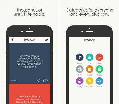 تطبيق Life Hacks دليلك لأفضل الأفكار اليومية