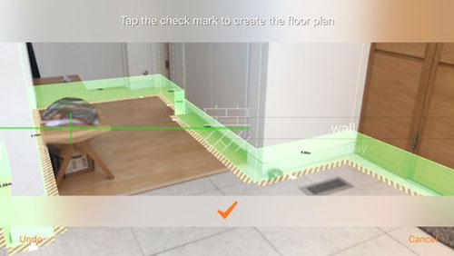 تطبيق RoomScan Pro للحصول على مخطط لمنزلك