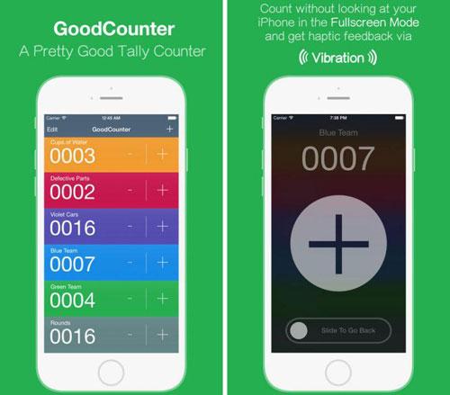 تطبيق GoodCounter مؤقت لحساب أعمالك اليومية