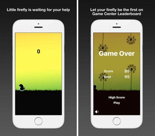 لعبة Firefly بتصميم كلاسيكي مميز