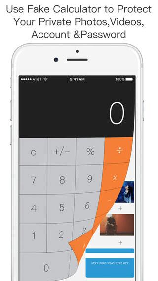 تطبيق Secret Safe Calculator Vault لإخفاء الصور والملفات المهمة