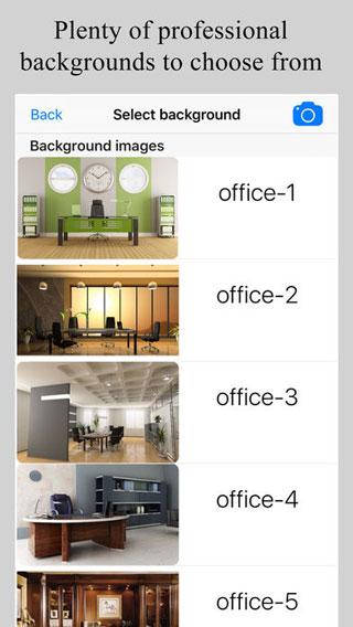 تطبيق Green Screen Live للتحكم في خلفية الصور