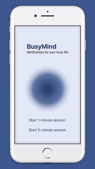 تطبيق Busymind للتخلص من الضغوط
