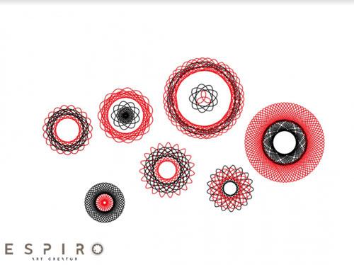 تطبيق Espiro لتصميم وإبداع رسومات spirograph بكل احترافية وسهولة