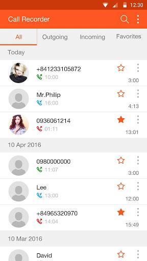 تطبيق Call Recorder مسجل مكالمات للأندرويد
