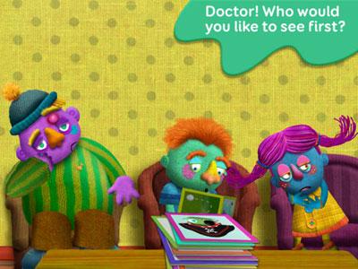 تطبيق Tiggly Doctor لتعليم الأطفال الانجليزية