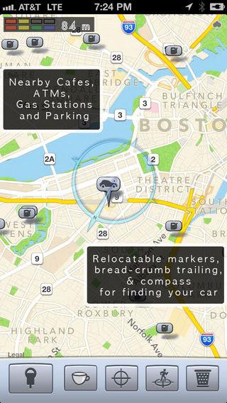 تطبيق Honk لمعرفة مكان ركن السيارة والأماكن المهمة القريبة