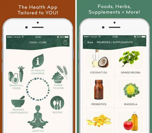 تطبيق Cook + Cure دليلك للأطعمة الصحية