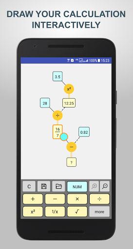 تطبيق Flow Calculator حاسبة رياضية مميزة