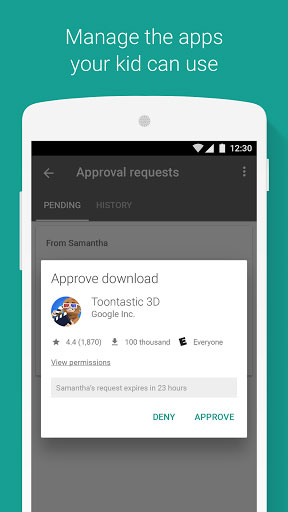 تطبيق Google Family Link للتحكم أجهزة العائلة