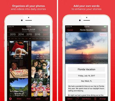 تطبيق Timebox Photo Journal لتنظيم ومشاركة صورك