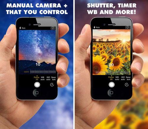 تطبيق ManCam لالتقاط صور باحترافية