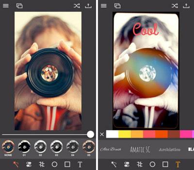 تطبيق Pixagram لتحرير وتصميم الصور
